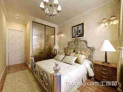 欧式卧室BOB体育彩票平台效果图,让卧室变得优雅浪漫